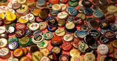 Colección de tapas de cerveza