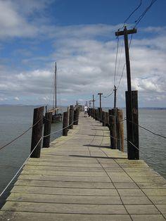 Boat Pier. China Camp