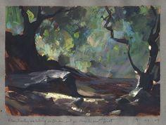 Land Sketch. Nathan Fowkes