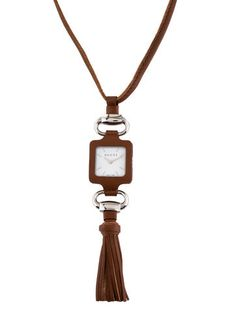 Gucci Watch Pendant Necklace w/ Tags