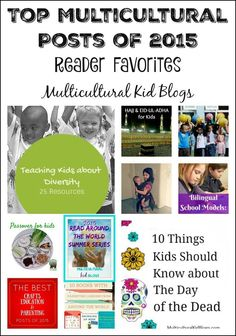 A look back at our top multicultural posts from the past year, by country. Holidays, multilingualism, and parenting were popular themes! Geography For Kids, Geography Lessons, World Geography, Early Learning, Fun Learning, Teaching Kids, Teaching Resources, Diversity Activities, Learning A Second Language