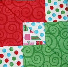 Block Design 1 of the Nine Patch Cut 10