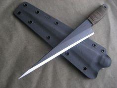 """Custom Kiridashi with 7"""" blade. www.millerbrosblades.com"""