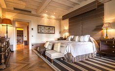 Rosewood Castiglion Del Bosco | Hotels Tuscany Italy | Floors and Ceiling details