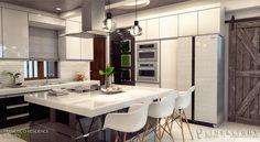 Francisco Residence on Behance Interior Architecture, Interior Design, Autocad, Adobe Photoshop, Behance, Kitchen, Furniture, Home Decor, Architecture Interior Design