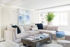 For a more modern take on seaside style, stick with furnishings that have sleek silhouettes and choose a palette of neutrals mixed with just a hint of color. Get inspired by these cool coastal spaces.