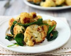 Spicy Cauliflower, Cauliflower Dishes, Low Calorie Recipes, Diet Recipes, Vegan Recipes, Salty Foods, How Sweet Eats, Winter Food, Food Inspiration