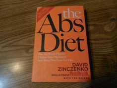 The Abs Diet David Zinczenko Hardcover w/jacket Health & Fitness Diet WeightLoss