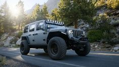 Jeep Wranger, Jeep Cars, Jeep Jk Unlimited, Easter Jeep Safari, Win Car, Discovery Channel Shows, Custom Jeep, Grey Exterior, Jeep Wrangler Rubicon