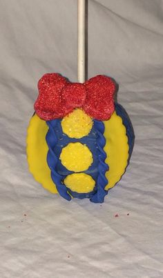 12 Edible Snow White Chocolate Covered Apple by Creativefondant