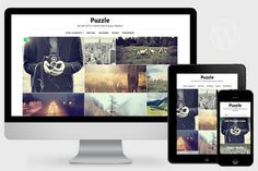Puzzle - Responsive WordPress Theme by Pro Theme Design on @creativemarket