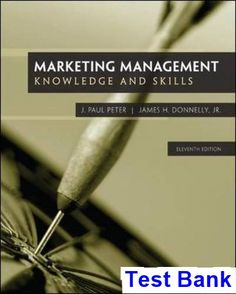 Marketing core 6th edition books pinterest business marketing marketing management 11th edition peter test bank test bank solutions manual exam bank fandeluxe Image collections