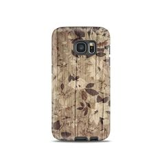 Floral samsung galaxy s4 case Wood samsung galaxy by OvercaseShop