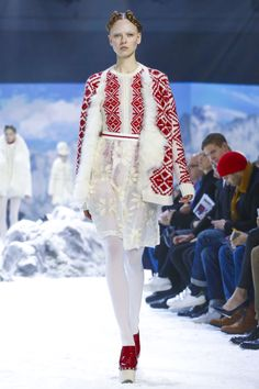 Moncler Gamme Rouge / Ready To Wear Fall Winter 2016 Paris
