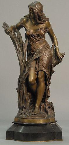 Bronze Sculpture After Albert-Ernest Carrier-Belleuse (1824-1897)
