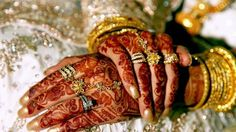 Brides and the traditional richness