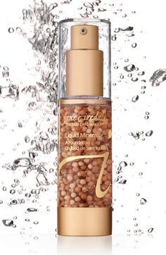Jane Iredale Liquid Minerals. Sheer Coverage Dewy Texture and Superior Hydration. Available at O Spa Kelowna located on 108-1912 Enterprise Way V1Y 9S9. 250-712-1112