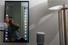 iPhoneよりiPadより大画面!―鏡でできた「Apple Mirror」が話題 - インターネットコム