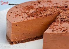 Шоколадно-йогуртовый чизкейк (без выпечки) image 1