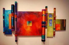 The Artwork of Myra Burg - Collaboratives With Liz Cummings