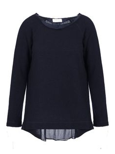 Italian Chic, Malene Birger, Fun Prints, Just In Case, Buy Now, Chiffon, Collections, Navy, Sweaters