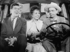 Gomer: You might be mashin' down too hard on your acceleration, an' floodin' 'er out.  Barney: I'll handle this Gomer.  Thelma Lou: I think Gomer's right, I smell gas. Do you smell gas, Andy?  Andy: I smell gas.  Opie: I smell gas.  Gomer: I smell gas.  Aunt Bee: I smell gas too.  Barney: ALRIGHT, ALRIGHT, ALRIGHT! You smell gas! Of COURSE you smell gas!  What do you think this car runs on, COAL?