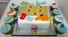Handy Manny Cake by LizzieQ Creations, via Flickr
