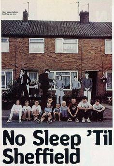 Pulp - No Sleep 'Til Sheffield Pulp Band, Live Music, Good Music, Sheffield Steel, Jarvis Cocker, Sheffield England, Yorkshire England, Britpop, The Clash