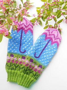 MASHAISL's Варежки Летний дождик Mittens Summer rain Ravelry: MASHAISL's Варежки Летний дождик Mittens Summer rainNovice-genser med striper💕 Målet er å strikke opp restegarn, og nå gjenstår det å se om garnet rekker til to ermer. Knitting Charts, Loom Knitting, Baby Knitting, Knitting Patterns, Knitted Mittens Pattern, Knit Mittens, Knitted Gloves, Fingerless Mittens, Fair Isle Knitting