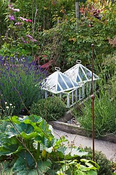 BARBARA_KENNINGTON_GARDEN_BRIGHTON_THE_POTAGER_VEGETABLE_GARDEN_WITH_CLOCHES
