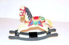 Vintage Folk Art Wooden Horse Rocking Horse by AntiqueAlchemists, $20.00 Wooden Horse, Black Friday, Folk Art, Horses, Rock, Etsy, Vintage, Popular Art, Stick Horses