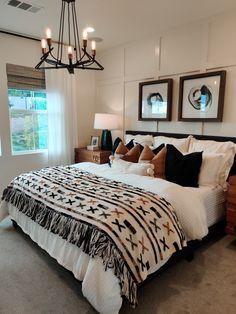 Western Bedroom Decor, Home Decor Bedroom, Bedroom Ideas, Dream Rooms, Dream Bedroom, Home Interior, Interior Design, My New Room, Cozy House