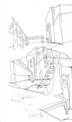Another Álvaro Siza Sketch