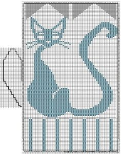 46 New Ideas Crochet Mittens Diagram Knitting Charts The Mitten, Knitted Mittens Pattern, Crochet Mittens, Knitting Charts, Knitting Stitches, Knitting Needles, Gato Crochet, Kitten Mittens, Baby Boy Crochet Blanket
