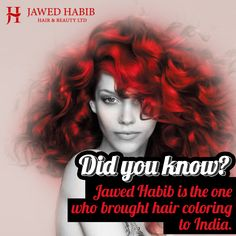 Now you know whom to thank for bringing in this #stylish #trend here. #JawedHabib #India #JawedHabibSalons #style #trendy #fashion #DidYouKnow