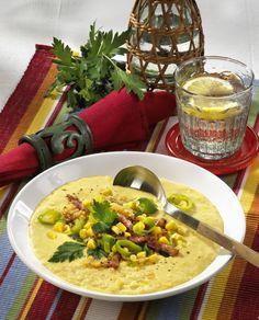 Unser beliebtes Rezept für Mexikanische Maiscremesuppe und mehr als 55.000 weitere kostenlose Rezepte auf LECKER.de.