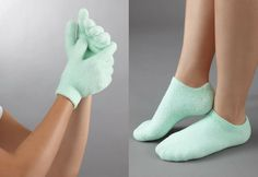 This is a personal fav of mine because this moisturizing glove and bootie set are an easy way to keep your skin looking it's best. Great give idea! www.giftsharelove.com