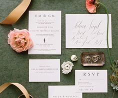 The latest and greatest trends in wedding paper—from gold foil to custom monograms, you're sure to be inspired.