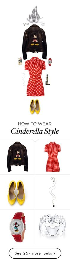 """""""Disney Girl, From Top to Bottom"""" by castles-inthesky on Polyvore featuring Carven, Philipp Plein, Disney and Sephora Collection"""
