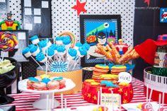 Super Heroe's party