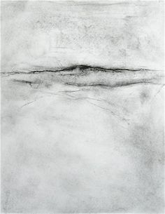 "Untitled Drawing (Charcoal on paper, 11"" X 9"") - 2009"