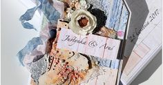 Beautiful weddingcard by DT Anna. May 2017 challenge