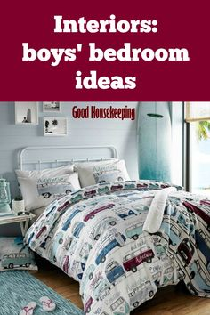 Need inspiration for decorating a boy's bedroom? We've got plenty of ideas to get you started
