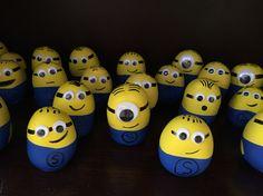 My handmade stress ball minions