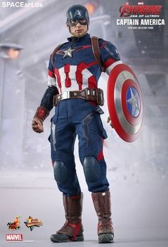 The Avengers 2: Captain America, Deluxe-Figur (voll beweglich) ... https://spaceart.de/produkte/tav007.php