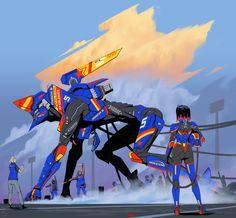 ArtStation - Racer, Robert Chew