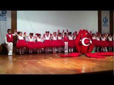 Yıl sonu Gösterisi 2012 '' Türkiyem'' - YouTube 6 Music, At Home Workouts, Youtube, Songs, Activities, Kids, Russia, Young Children, Boys