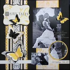 Stampin' Up!  Scrapbook Layout  Angela Timms