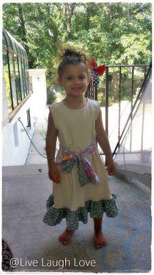 Little Fawn Dress - Eliza Dress - Wheat #Giveaway Ends 8/12 @Little_Fawn_Co