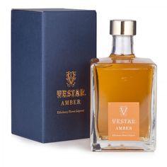 Vestal Amber. Elderberry liqueur
